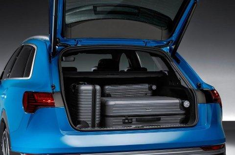 600 liters bagasjerom bak - og 60 foran. Det betyr at du får med deg mye her.