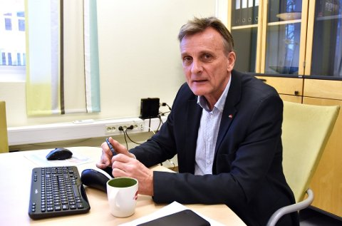 ET LITE LYSPUNKT: At arbeidsledigheten er litt lavere enn for to uker siden, ser vi på som et positivt tegn på at noen er tilbake i arbeid, sier Terje Tønnessen, direktør ved Nav Vestfold og Telemark.