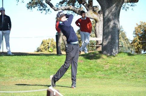 16-åringen fra Drøbak Golfklubb. Mikkel Antonsen, spilte sitt livs golf i torsdagens åpningsrunde av European Young Masters: