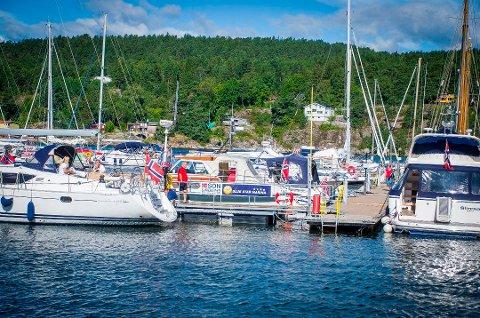 Rapport: I tertialrapporten for havna i Son poengteres det at International Blue Star Marina godkjenningen går ut i desember.