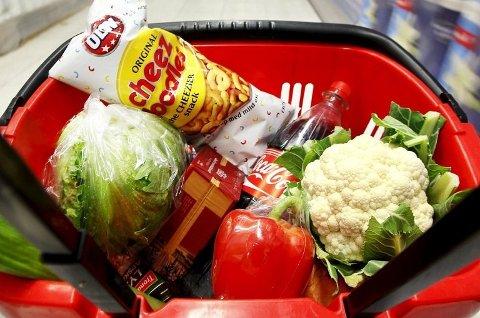 KIWI BILLIGST: Det viser denne ukes mattest.