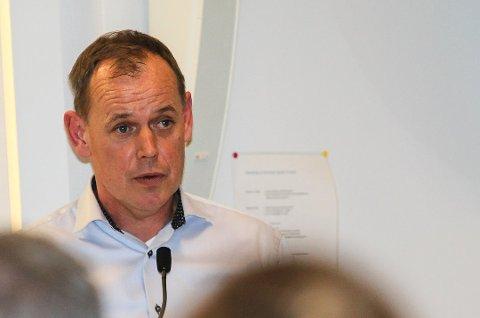 TAR TAK:  Ordfører Hans Kristian Raanaas.