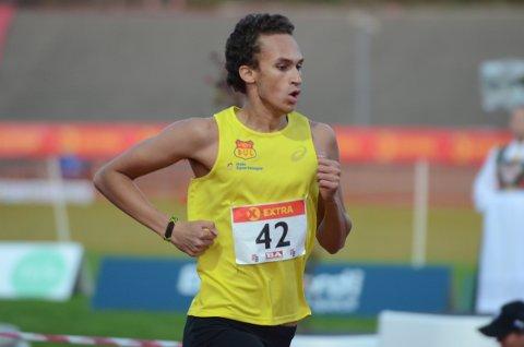 Leon Douglas Mjaaland avsluttet sesongen med NM-finale for senior i Bergen.