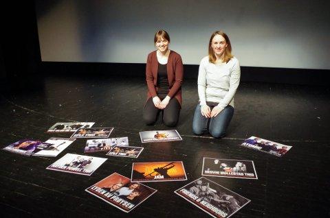 KLARE FOR NYTT JAZZÅR: Eirin Lien (til venstre) og Bente Linjordet i Tynset Jazzklubb regner med at det blir mye folk i Storsalen når Prøysen står på programmet i januar.