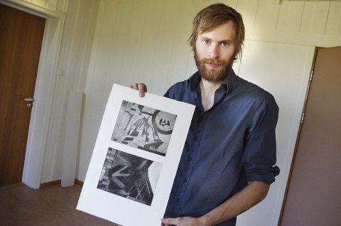 GRUNDIG: Marius Reed sier at arbeidet hans er fokusert rundt grundig bevisst utforming og detaljer.