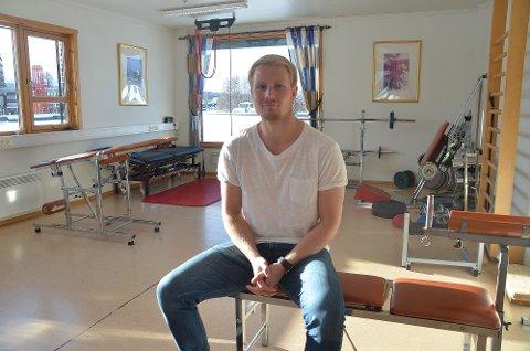 Egen praksis: Anders Hagen har startet egen praksis som fysioterapeut. I Brugata er han er samlokalisert med Tynset Fysikalske.
