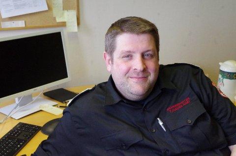 BRANNINSPEKTØR: Terje Haugland er branninspektør i Midt-Hedmark brann- og redningsvesen.