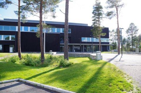 Nord-Østerdal videregående skole på Tynset.