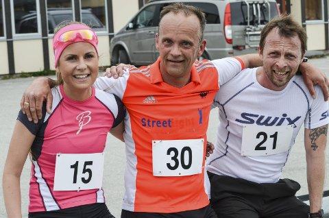 LØP:Ingeborg Nordaune, Steinar Trondsetås og Olav Grønli.
