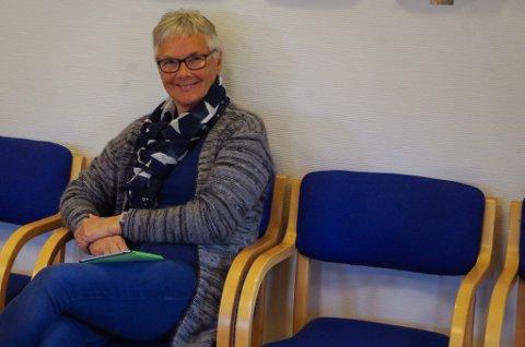 PÅ TILHØRERPLASS: Valborg Ligård fulgte hytttesaken fra tilhørerbenken i formannskapet.