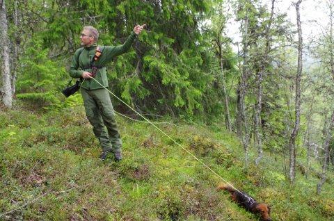 FELLINGSLAGS-LEDER: Jo Esten Trøan er leder for de kommunale rovviltfellingalgene i Tynset og Tolga.