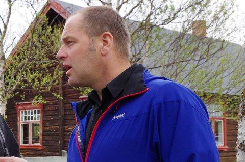 VARAORDFØRER I TOLGA: Leif Vingelen (Sp).