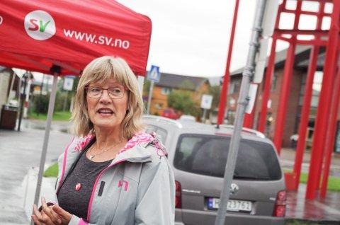 SUPERVETERAN: Karin Andersen (SV) er inne i sin sjette periode på Stortinget.