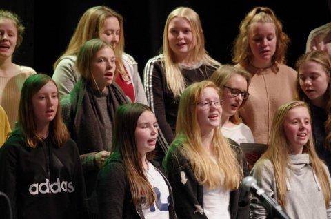 SALMER: Salmesang sto på programmet i Kulturhuset på Tynset lørdag.