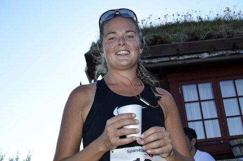 TRIMMER: Jeg skal trene mere til neste år. Dette var moro sier Marianne Holden som påstår at dette er hennes 3. løp Riasten Rundt.
