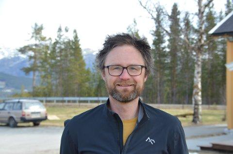 OPTIMIST: Audun Jøstensen Lutnæs er overbevist om at Fjellregionen er et eldorado for sykkelturisme. Det handler om å gjøre det kjent for flest mulig.