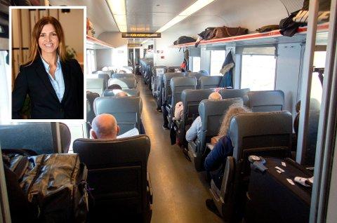 Angela Nesteby er spent på mandagen, men gleder seg. Foto: Gorm Kallestad, NTB scanpix og SJ. Norge