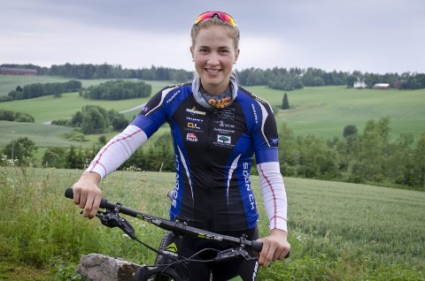 På landslaget: Thea Siggerud (17).