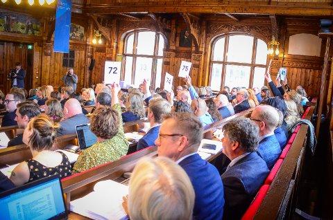 BER OM PENGER: Alle partiene i Viken fylkesting er enige om at staten må komme med mer penger til fylkene og kommunene som følge av koronakrisen. (Arkivfoto)