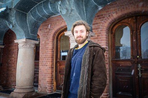 GRØNN SPISSKANDIDAT: Martin Løken er valgt til 1. kandidat for Ås MDG i kommunevalget.