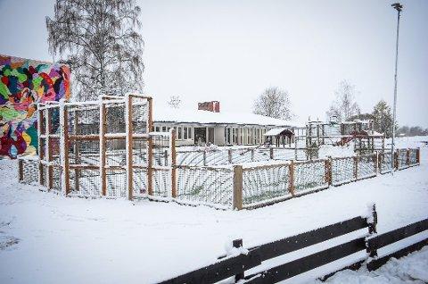 KAN FÅ NYTT P-HUS: Åsgård skole.