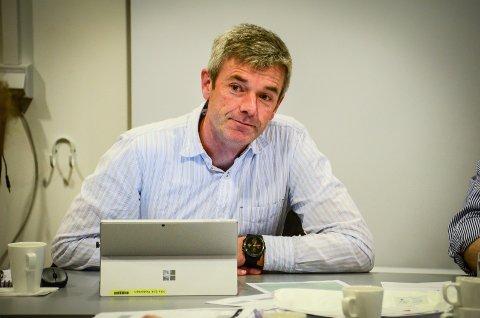 TRYGT I ÅS: Undersøkelsene av kvikkleirteområdet på Moer tilsier ikke at det er fare for ras slik som i Gjerdrum, sier kommunalsjef Nils Erik Pedersen.