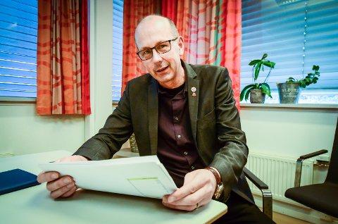 IKKE BEKYMRET: Førstekandidat for Ås Arbeiderparti, Ola Nordal, mener meningsmålingen som gir Ap en tilbakegang på -3,4 prosentpoeng er et godt utgangspunkt for valgkampen.