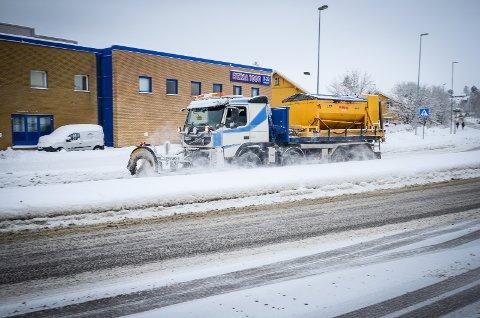Mandag kommer snøen tilbake på Østlandet.