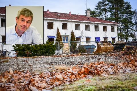 USIKKER FREMTID: Hva som skal skje med Bjørnebekk-området i fremtiden må avgjøres av politikerne, sier kommunalsjef Nils Erik Pedersen.