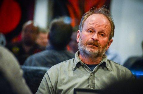KRITISK: Illustrasjonene som legges frem fra utbyggerne er misvisende, mener Håvard Steinsholt (SV) om planene for utbygging på Moerjordet i Ås.