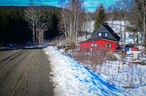 FÅR SKILLE UT: Søknaden om å få skille ut en parsell fra Drøbakveien 370 for å bygge ent nytt hus ble godkjent av formannskapet.
