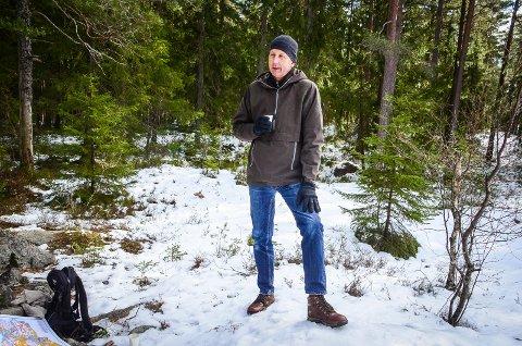 VELKOMMEN: Ordfører Ola Nordal ønsker hytteeierne velkommen til å besøke hyttene sine i Ås i påskeferien, men han er klar på at smittevernreglene må følges.