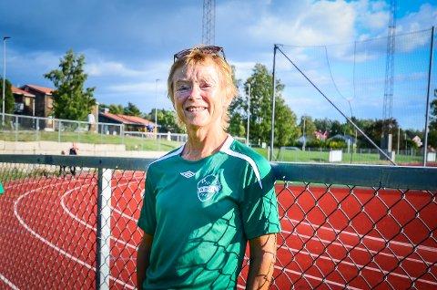 BEKYMRET: Guri Drottning Aarnes i Ås IL er bekymret for at nedstengningen under korona vil gjøre langsiktig skade på den lokale idretten.