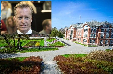 TAR OVER I ÅS: Rektor Curt Rice,  rektor ved Oslo Met, blir ny rektor på NMBU.