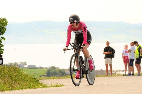 LOVENDE: Eline Skjevdal er glad for at hun er tilbake i konkurransemodus. Ås-jenta syklet bra da norgescupen ble innledet i helga.