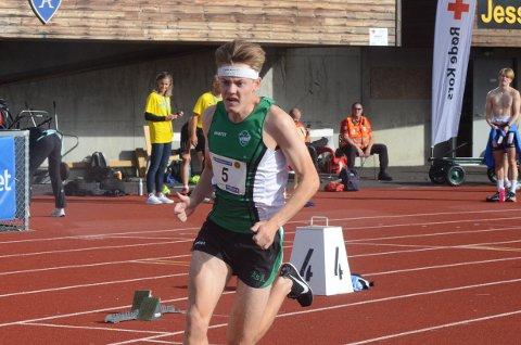 LØPT NOK: Ole Jakob Solbu stod over helgens stevne på Bislett. Ås-gutten mente han har løpt nok konkurranser den siste tiden. Nå blir det to uker der trening har høyest prioritet.