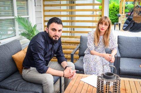 VENETT LENGE: Ida Mehrizadeh og Aram Ariai ventet i over tre måneder på å få klagesaken sin behandlet av Statsforvalteren.
