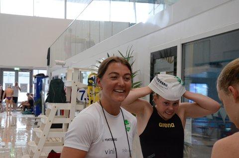 Ås-trener Malene Pedersen trekker frem juniorgullet til Marie Hellberg Munthe som den store prestasjonen på NM.