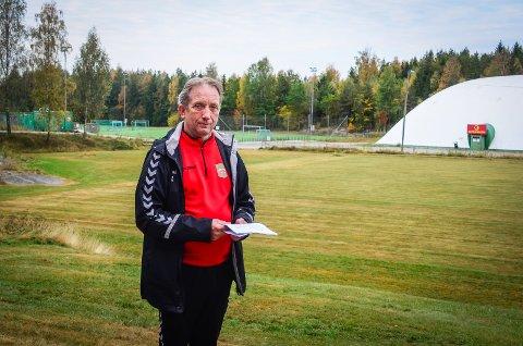 LØFT FOR NORDBY: Et nytt og større idrettsanlegg vil være et stort løft for hele nordre del av Ås kommune, sier Thor Ringstad i Nordby IL som har spilt inn sine planer til kommunen.