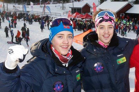 I TOPPEN: Nikolai Elde Holmboe, Aleksander Elde Holmboe.