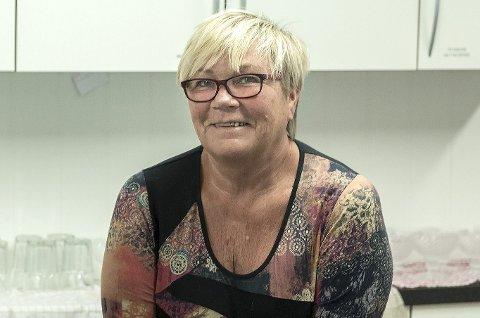 Driftsansvarlig: Laila Rønningen er styreleder i Støtteforeninga for Sunndal pensjonistsenter.