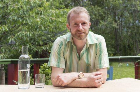 Germain Schmid (MDG) sier nei til Todalsfjordprosjektet.