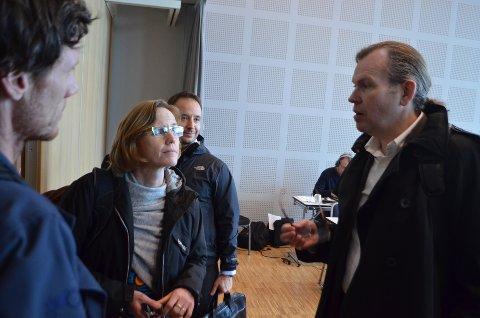 Prosessleder Torun Lynnebakken i Statens vegvesen og direktør Finn Aasmund Hobbesland for teknologi og utbyggingsstrategi i Nye Veier AS er sentrale i planleggingsarbeidet for ny E39