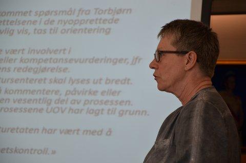 KONTROLL: Revisjonsleder Irene Loka i Kommunerevisjonen Vest, Vest Agder IKS opplyser at omfang av timer pr. kommune må ses på nytt fra 2021.
