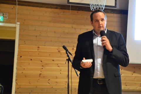 SAM-LEDER: Leder Gisle M. Saudland (Frp) i samferdselsutvalget i Vest-Agder fylkeskommune.