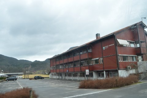 *** Local Caption *** Sirdal kommune, kommunehuset