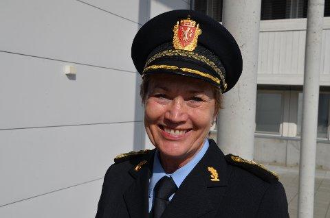 *** Local Caption *** Politimester Kirsten Lindeberg i Agder politidistrikt