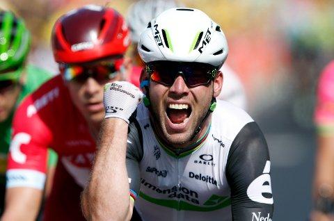 SUVEREN: Mark Cavendish har vært verdens beste spurter i mange år.