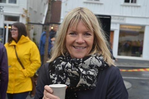 Fylkesrådmann Kristin Tofte Andresen.