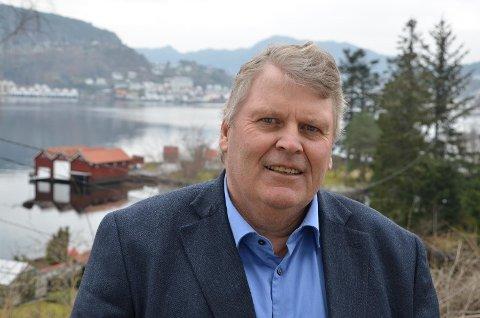 BACK IN BUSINESS: Avgått stortingspolitiker Hans Fr. Grøvan er nå tilbake i arbeid for næringslivet i Lister som  prosjektleder for Lister Næringsforening.